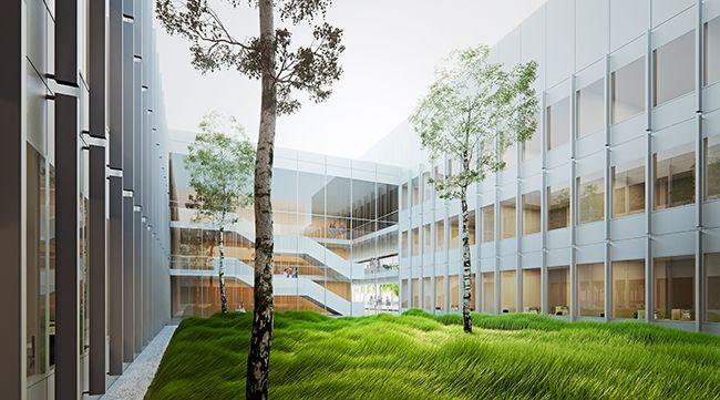 Heinle Wischer Partner osd construction institutes headquarters imbit